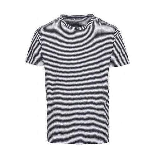 Knowledge Cotton Apparel  - Adler Narrow Striped Tee