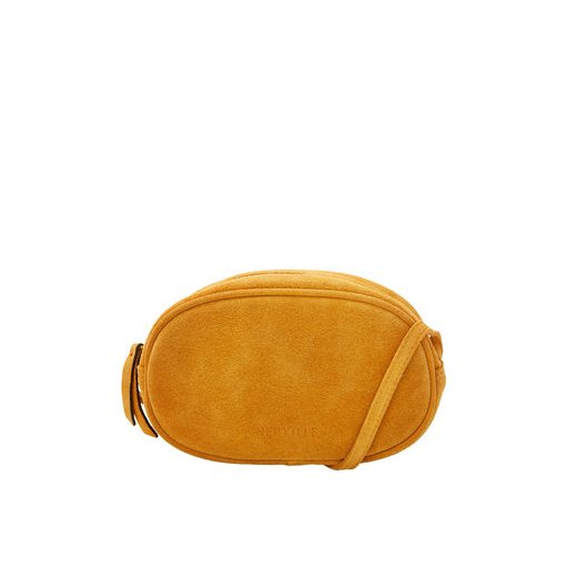 Ovale Bag yellow suede