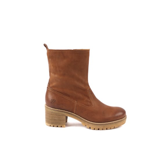 ANNE MID BOOT COGNAC